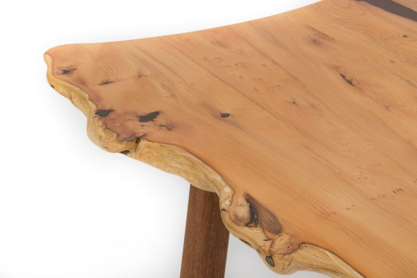 Yew Coffee Table Close Up