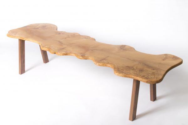 Large Burr Oak Coffee Table